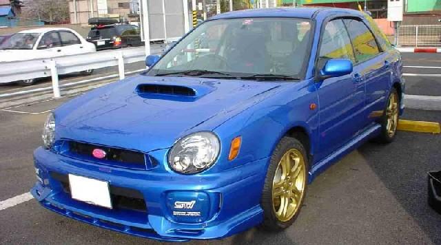 Bugeye sti wagon japan only